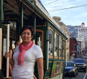 Eija in SanFran